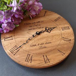 Personaalse sõnumiga kellad